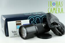 Contax Carl Zeiss T* Tele-Tessar 300mm F/4 MMJ Lens for CY Mount With Box #11450