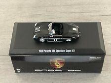 Porsche 356 Speedster Super 1600 Noir N°71 Steve MC Queen 1/43
