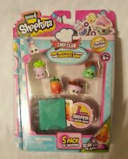 Shopkins Season 6: Chef Club 5 Pack - (Set A) - NEW