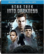 Star Trek Into Darkness (Blu-ray Disc + DVD, 2013, 2-Disc Set) with Slipcover