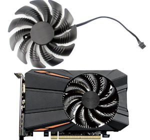 Fan For Gigabyte Geforce GTX 1050Ti RX550 T129215SU 88MM PLD09210S12HH Replace