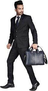 Hammonds Flycatcher Genuine Leather Bag 13 inch Laptop Messenger Office Travel