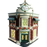 St Nicholas Square Bank The Village Collection Retired 2000