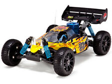 REDCAT - YELLOW/FLAME NITRO HURRICANE XTR 1/8 SCALE BUGGY REMOTE CONTROL CAR