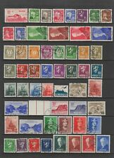 Norway 1931 - 1943 collection MH or fine used , 104 stamps