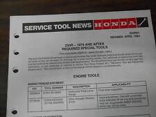 Vintage Honda Service Tool News 1979-Up Z50R 3135-6482