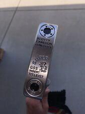 "Titleist Scotty Cameron Circle T CONCEPT 1 Super Rat GSS Insert 34"" Mint!"