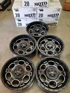 MOTO METAL  Wheels / Rims 20 inch 5X127  +18MM SATIN BLACK ( JEEP WRANGLER )