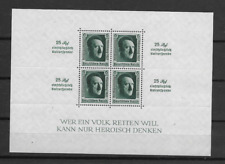 1936 MNH Germany - Third Reich, Michel block 11, Postfris