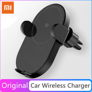 Global Xiaomi Mi 20W Max Qi Wireless Car Charger Fast Charging Car Phone Holder