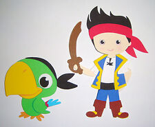 Jake and the Neverland Pirates Parrot Paper Die Cut  Scarpbook Embellishment