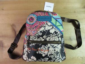 DESIGUAL Backpack Back Bruselas Nazca Mini Modell 20WAKP51 4001 Rucksack Neu