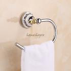 Chrome Brass Hand Towel Ring Rail Rack Bar Holder Wall Mounted Bathroom Hardware