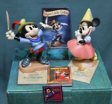 WDCC I Let Em Have It - Princess Minnie and Brave Little Tailor card & pin NIB