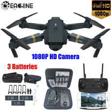 Eachine E58 2.4G RC Drone FPV Wifi 720P HD Camera Quadcopter+3 Batteries