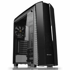 Thermaltake Versa N27 Mid Tower Gaming Computer PC Case Full Clear Side Window