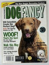 Dog Fancy Magazine Chesapeak Bay Retriever, Bichon Frise, More Aug 2000