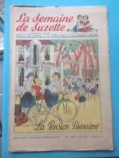 LA SEMAINE DE SUZETTE N°14 du 6/04/1950 -la pension bienaimé
