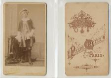 Pierre Petit, Paris, acteur à identifier Vintage CDV albumen carte de visite