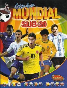 Colombia Mundial Sub-20 2011 - FiguPlay Album COMPLETE