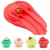 Colorful Sludge Fluffy Slime Space Mud Fruit Charm Cloud Clay Apple Peach Cherry