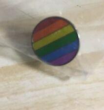 FCUK Rainbow Wheel EB0080 Set of 1 Enamel Pin Badges
