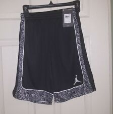 Nike Air Jordan Dri-Fit Training BB Shorts Elephant 2.0 XS 4-5 yrs  Black  NWT