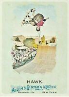 2010 Topps Allen & Ginter #54 Tony Hawk Skateboard Legend Card GOAT