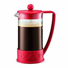 Bodum Brazil French Press 1-Liter 8-Cup Coffee Maker, 34-Ounce, Red