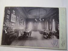 Wingolf Halle a. S. - Haus - Kneipsaal - Kneipe - um 1900 - KAB / Studentika