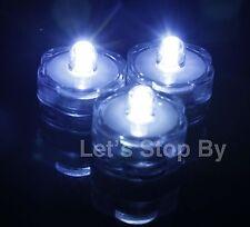 24 LED White SUBMERSIBLE Wedding Supplies Waterproof Decor Vase Light