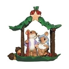 Charming Tails - In Honor Of A Miracle - Holy Family Christmas Figure 132105