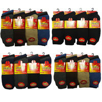 6,12 Pairs Mens Thermal Socks Walking Hiking Winter Heat Warm Footwear Size 6-11
