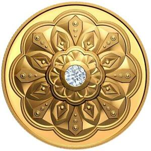 Kanada 200 Dollar 2020 Canadian Brilliance mit Forevermark™ Diamant 1 Oz Gold PP