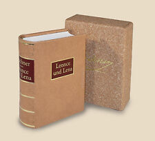 Miniaturbuch Minibuch:  Büchner, Leonce und Lena