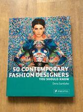 50 Contemporary Fashion Designers You Should Know Book By Doria Santlofer