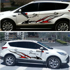 2x Flame Dragon Totem Personalized Modified Vinyl Film Decal Sticker Car Styling