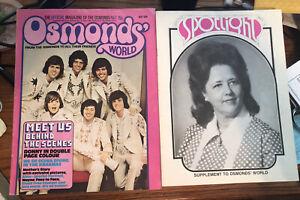 Osmonds' World Magazine + Spotlight Supplement - May 1974