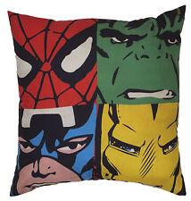 Marvel Comics justicia 40CM Square Cojín Superhéroe Niños Chicos Personaje Dormitorio