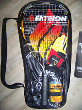 Ektelon Play With Fire Racquetball Set in Case w/Balls, Glasses, Manual, & Glove