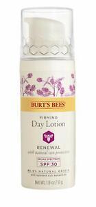 Burt's Bees Renewal Firming Day Lotion Spf 30, 1.8 Oz