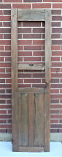 """SPANISH COLONIAL ANTIQUE WOODEN DOOR OLD MEXICO 74 1/2"""" x 21 3/8"""" x 1 3/4"""" """"z"""""""