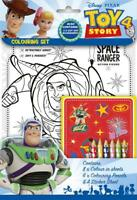 Disney Pixar Toy Story 4 Colouring Set Childrens Activity Stickers Party Gift