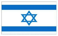 ISRAEL ISRAELI JEWISH NATIONAL LARGE 5 x 3FT FANS SUPPORTER FLAG WITH EYELETS