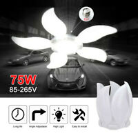 30W-75W LED Garagenleuchte E27 Garage Werkstatt Deckenleuchte Lampe Verformbar