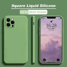 Coque housse iPhone 11 pro 12 pro max 8 7 plus Se 2020 x xs xr En Silicone