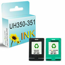 2 UCI® Ink fits for HP 350 351 XL Photosmart C4480 C4483 C4485 C4500 C4524 C4540