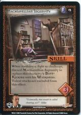 Buffy CCG TCG Angels Curse Unlimited Edition Card #13 Machiavellian Ingenuity