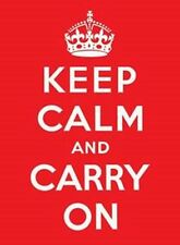 Keep Calm and Carry On large metal sign  (fd)  cpm
