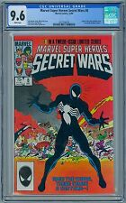 SECRET WARS #8 - CGC 9.6 - WP NM+ - Venom Spider-man Black Costume Symboite